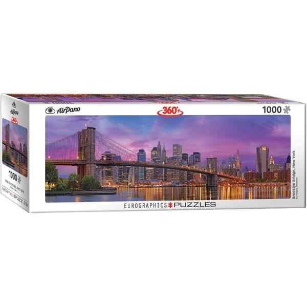 Eurographics 360 Brooklyn Bridge New York 1000-Piece Puzzle - ODDO igračke
