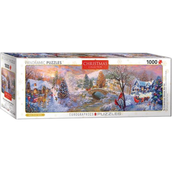 Eurographics Panoramic Grandsmas House 1000-Piece Puzzle 5331 - ODDO igračke