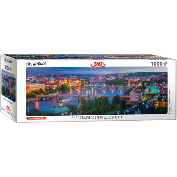 Eurographics 360 Prague Czech Republic 1000-Piece Puzzle 6010-5372 - ODDO igračke