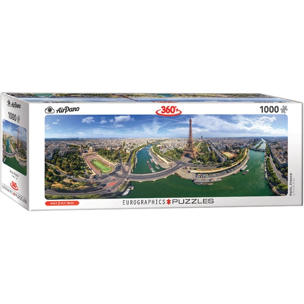 Eurographics 360 Paris France 1000-Pieces Puzzle 5373 - ODDO igračke