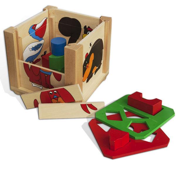 Drvena Kocka Umetaljka LFW801 - ODDO igračke