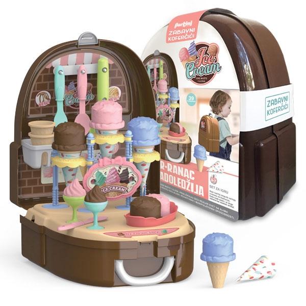 Kofer-ranac Mali sladoledžija P-0362 - ODDO igračke
