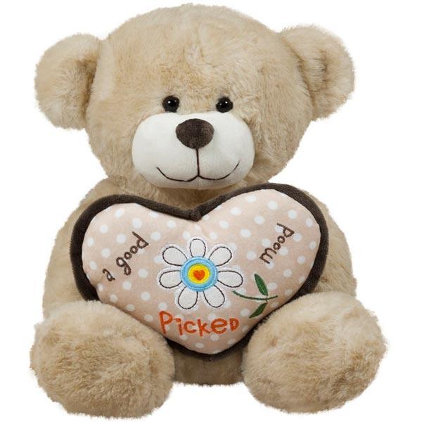 Plišana igračka Meda sa srcem 27 cm AM01493 - ODDO igračke