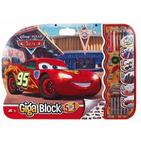 GIGA BLOCK 5 IN 1 CARS AS27041 - ODDO igračke