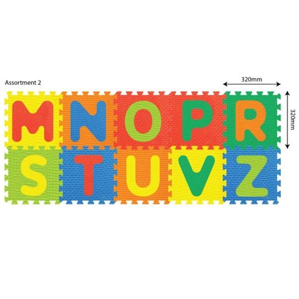 Podna puzzla Alfabet  32x32x10 PZ10028 - ODDO igračke