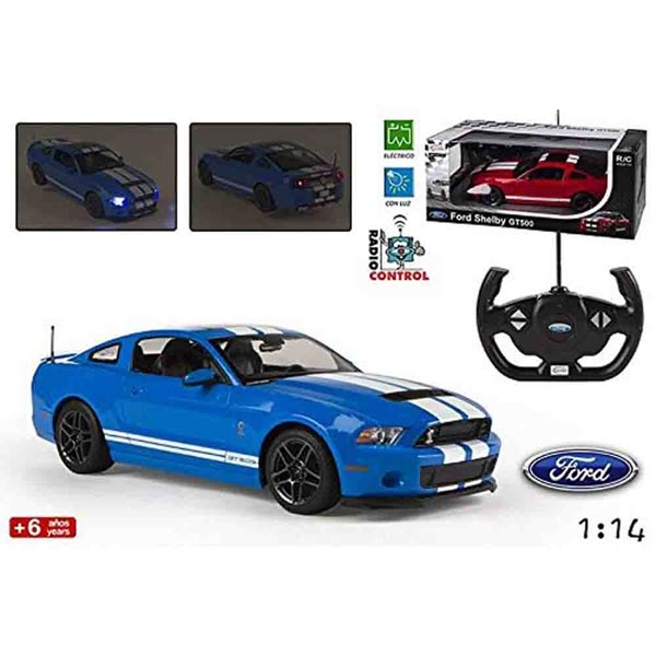 Autić na daljinsko upravljanje R/C 1:14 Ford Shelby 500 Rastar RS07780 - ODDO igračke