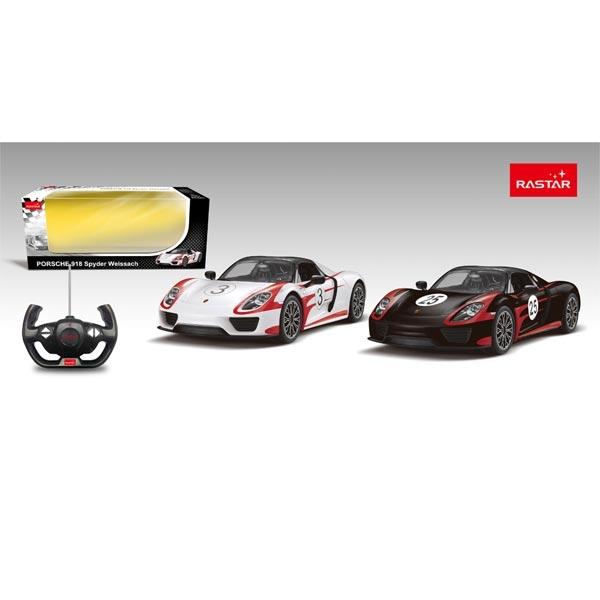 Autić na daljinsko upravljanje R/C 1:14 Porshe 918 Spider Rastar RS07841 - ODDO igračke