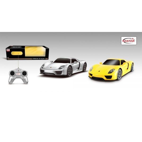 Autić na daljinsko upravljanje R/C 1:24 Porshe 918 Spider Rastar RS07858 - ODDO igračke