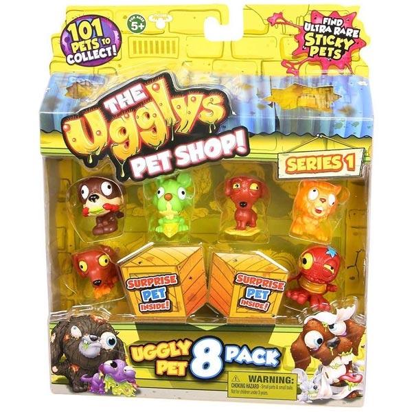 UGGLYS PET SHOP FIGURE 8PK S1 SF19409 - ODDO igračke