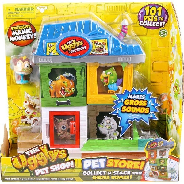 UGGLYS PET SHOP SET ZA IGRU S1 SF19414 - ODDO igračke