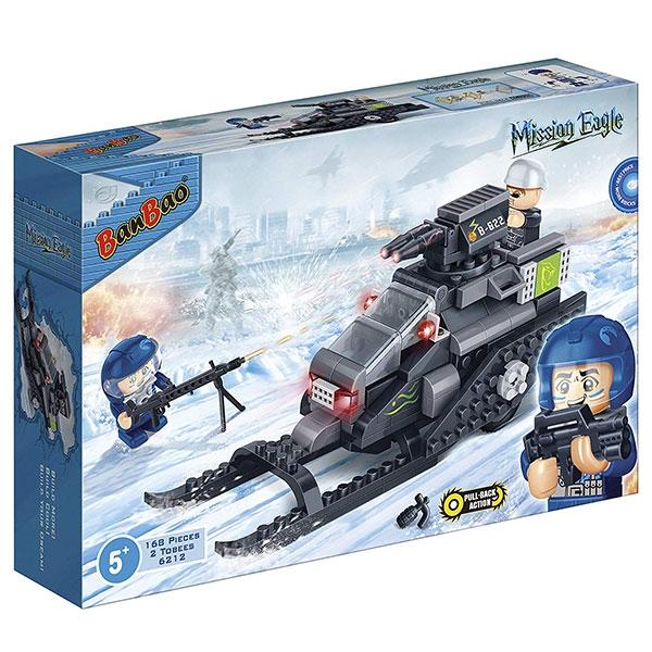 BanBao kocke Motorne sanke 6212 - ODDO igračke