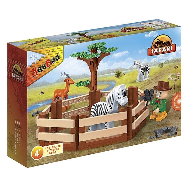 BanBao kocke Safari obor 6661 - ODDO igračke