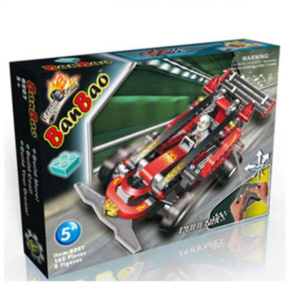 BanBao kocke Auto na daljinsku kontrolu 8207 - ODDO igračke