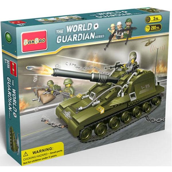 BanBao kocke Tenk 8235 - ODDO igračke