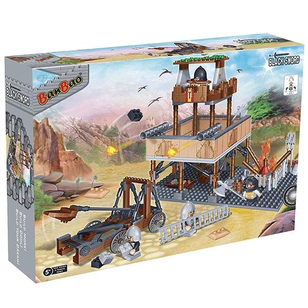 BanBao kocke Srednjevekovna Odbrambena Kula 8265 - ODDO igračke