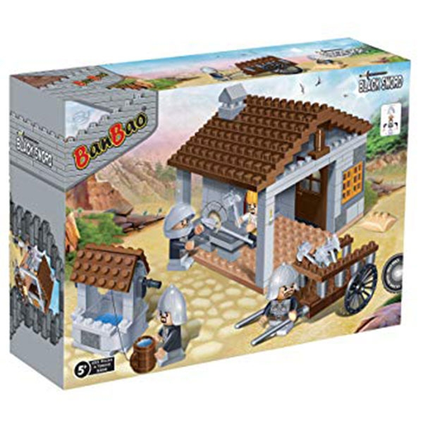 BanBao kocke Srednjevekovna Kovačnica 8266 - ODDO igračke