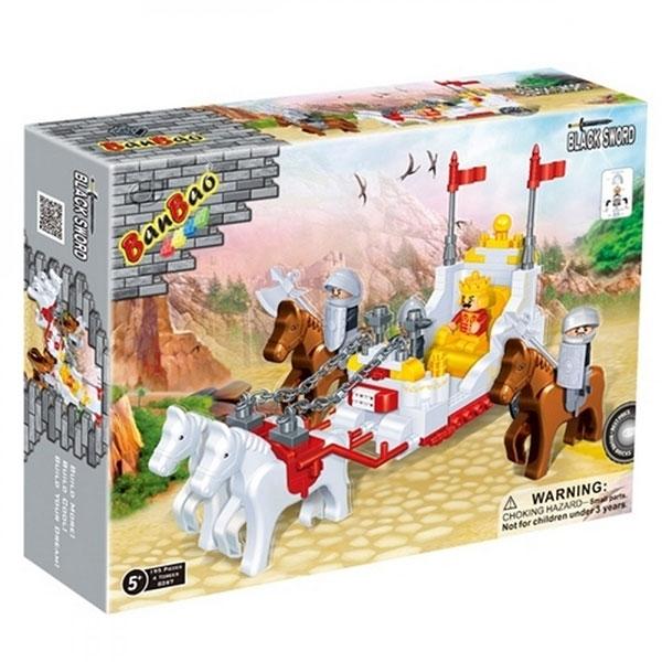 BanBao kocke Srednjevekovna Kraljevska kočija 8267 - ODDO igračke