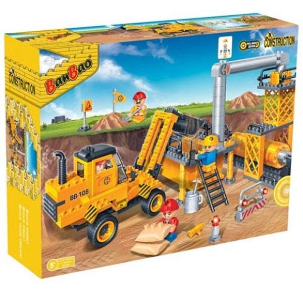 BanBao kocke Gradjevinski set Asfaltna baza 8533 - ODDO igračke