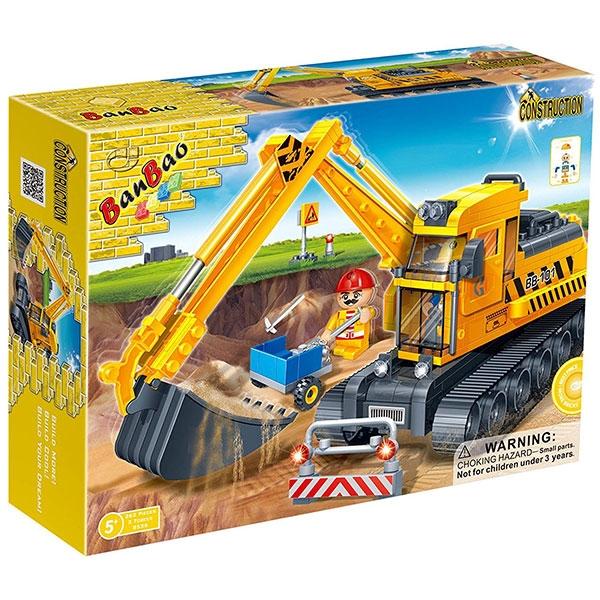 BanBao kocke Gradjevinski Bager 8536 - ODDO igračke