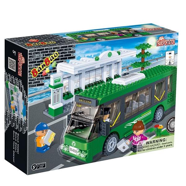BanBao kocke Gradski Autobus 8768 - ODDO igračke