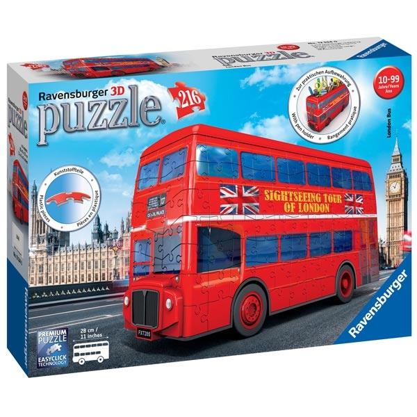 Ravensburger 3D puzzle (slagalice) - London bus RA12534 - ODDO igračke