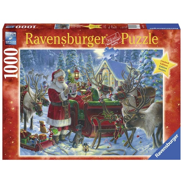 Ravensburger puzzle (slagalice) - Božićna čarolija RA13977 - ODDO igračke