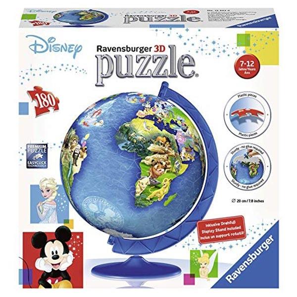 Ravensburger 3D puzzle (slagalice) - Dečija mapa sveta RA12343 - ODDO igračke