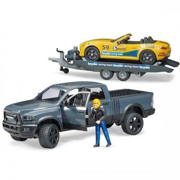 Bruder Džip RAM Power Wagon and Roadster Brother Racing Team 025045 - ODDO igračke