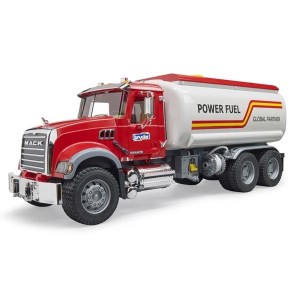 Kamion Bruder Mack cisterna Granite Fuel Tank Truck 028275 - ODDO igračke