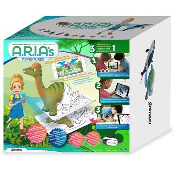 Arijin Interaktivni Set 3D Avanture 0127358  - ODDO igračke