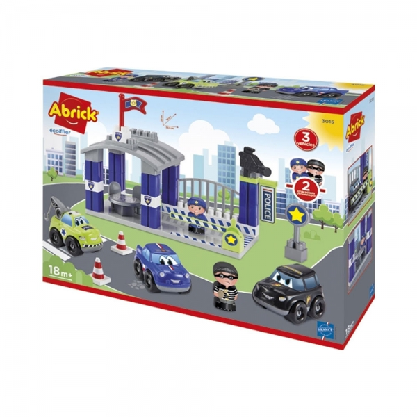 Ecoiffier Policijska Stanica SM003015 - ODDO igračke