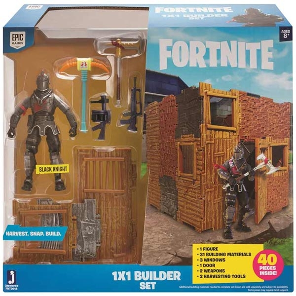Fortnite Set za Gradnju i Figura Black Knight TWF0048 - ODDO igračke