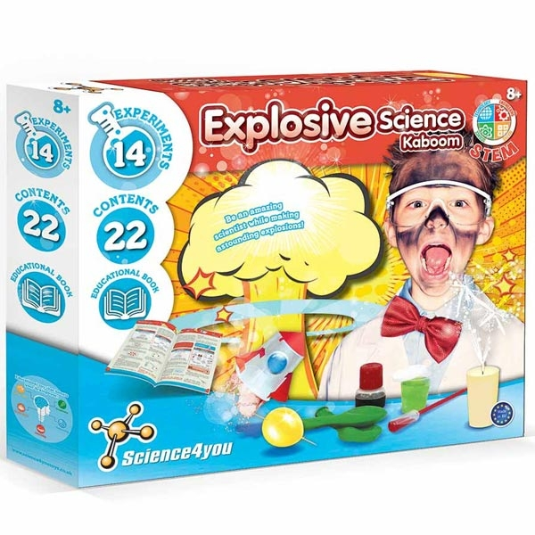 Kaboom Eksplozivna Nauka Science 4 You SC612853 - ODDO igračke