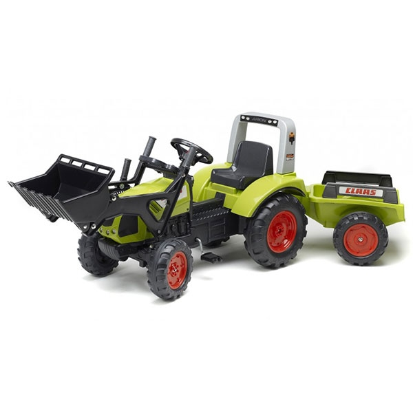 Traktor Falk na pedale Rovokopač Class Arion 430 sa prikolicom 1040AM - ODDO igračke