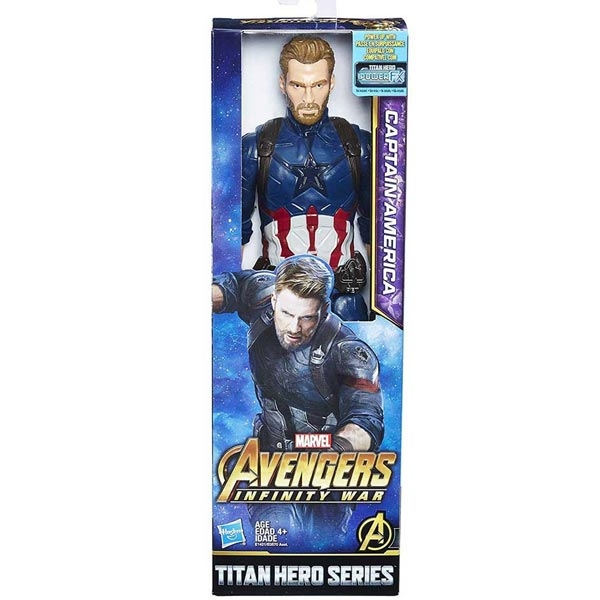 Avengers Captain America Figura E3301 - ODDO igračke