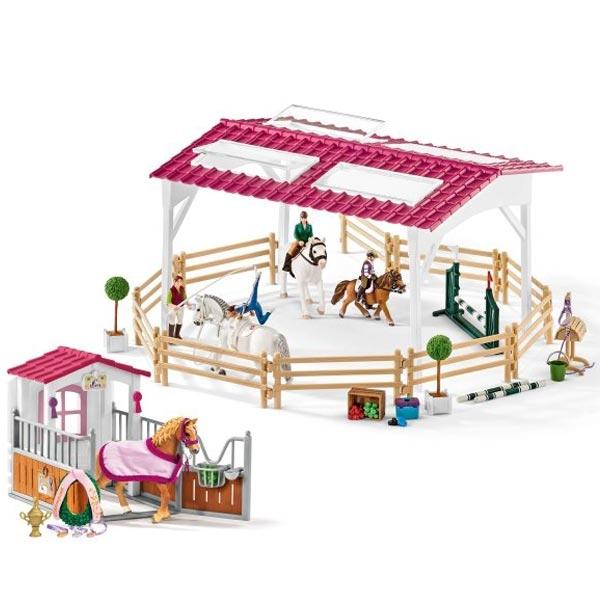 Schleich Škola jahanja sa štalom i dodacima 72118 - ODDO igračke