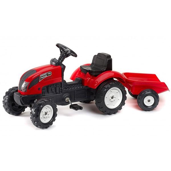 Traktor na pedale sa prikolicom Garden Master crveni 2058J - ODDO igračke