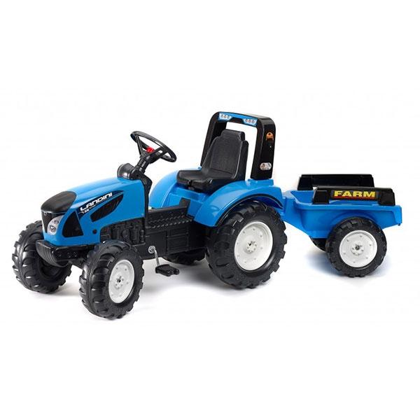 Traktor Falk na pedale Landini sa prikolicom 3010AB - ODDO igračke