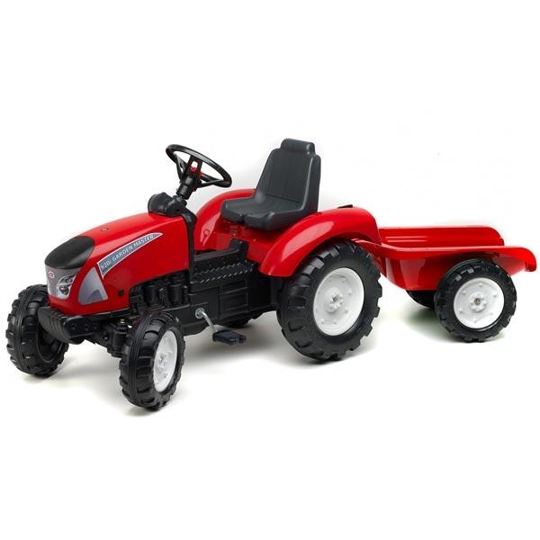 Traktor Falk na pedale Garden Master sa prikolicom crveni 3021ab - ODDO igračke