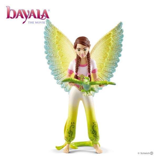 Schleich Bayala figure Surah sa papagajom Kuack 70584 - ODDO igračke