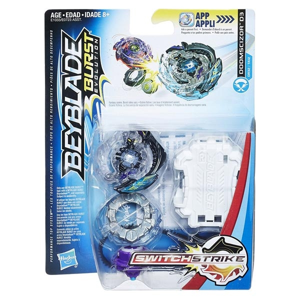 Beyblade Burst Evolution - Switchstrike Set, Doomscizor D3 E1033 - ODDO igračke