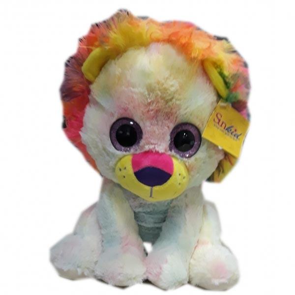 Plišani lav 32cm big eye multicolour Sunkid - ODDO igračke