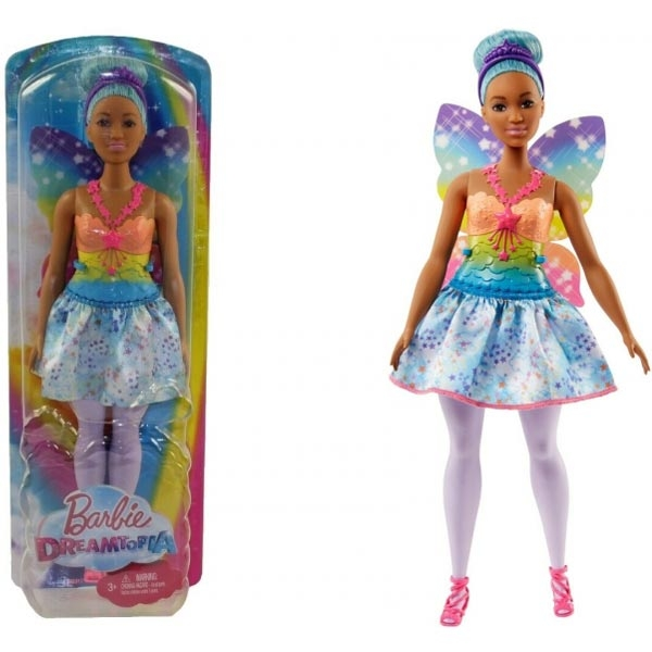 Barbie Lutka Rainbow Cove Fairy FJC87 - ODDO igračke
