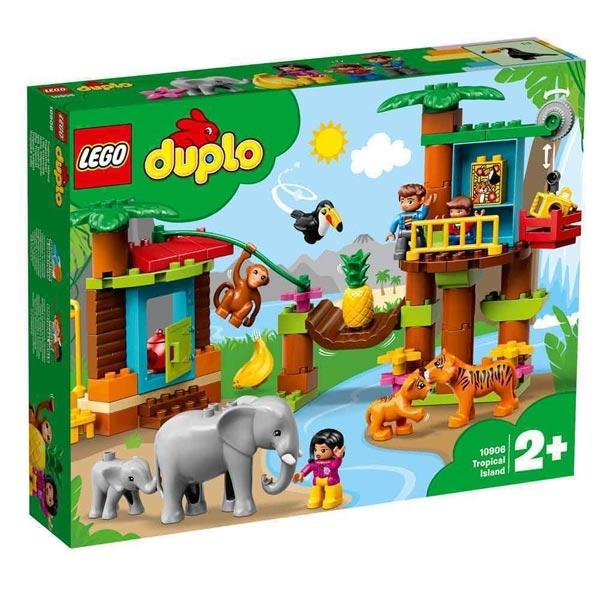 Lego Duplo Wild Jungle LE10906 - ODDO igračke