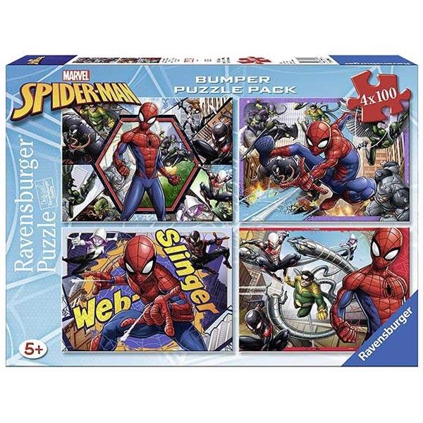Ravensburger puzzle (slagalice) Spidermen 4u1 RA06914 - ODDO igračke