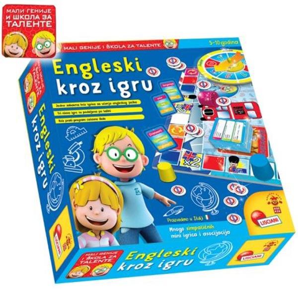Mali Genije SR Edukativna igra GO GO English Moj prvi engleski 42993 - ODDO igračke