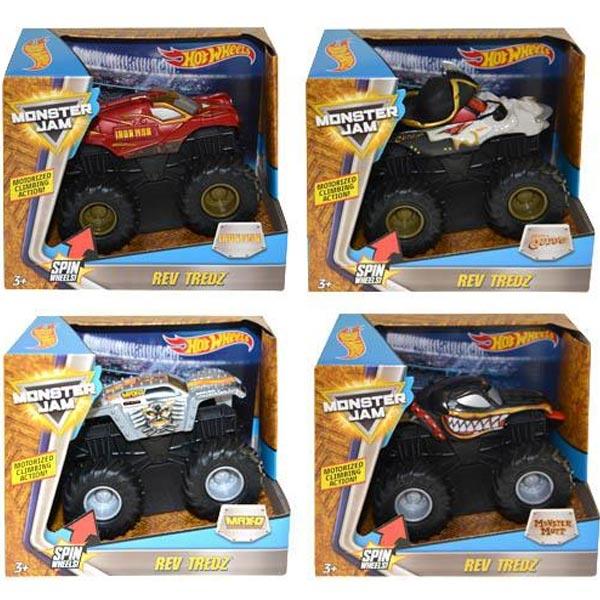 Hot Wheels Kamion Monster Jam Rev Tredz 4ass CHV22 - ODDO igračke