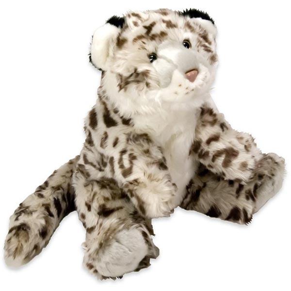 Plišani snežni leopard sedi 40cm GS17 - ODDO igračke
