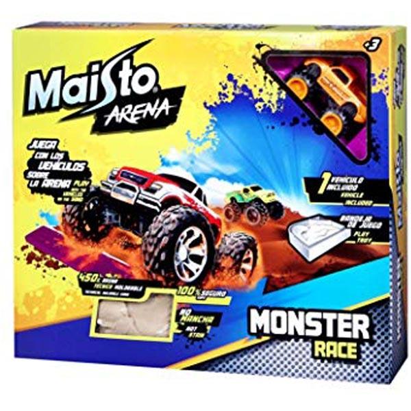 Maisto Arena Monster Race + 450gr peska 511501 - ODDO igračke