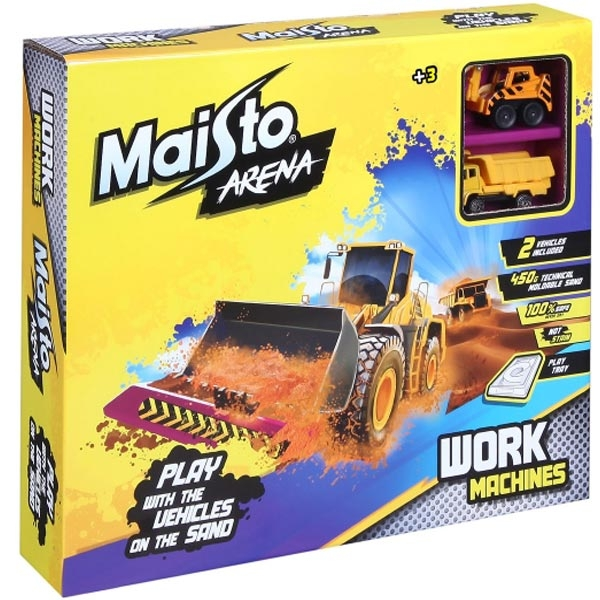 Maisto Arena Radne Mašine + 450gr peska 511503 - ODDO igračke